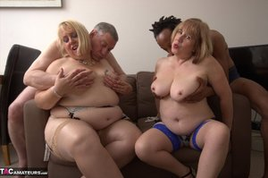 BBW Mature Interracial Pics